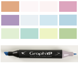 The Full Color Chart Le Nuancier Graphit 176 Colors