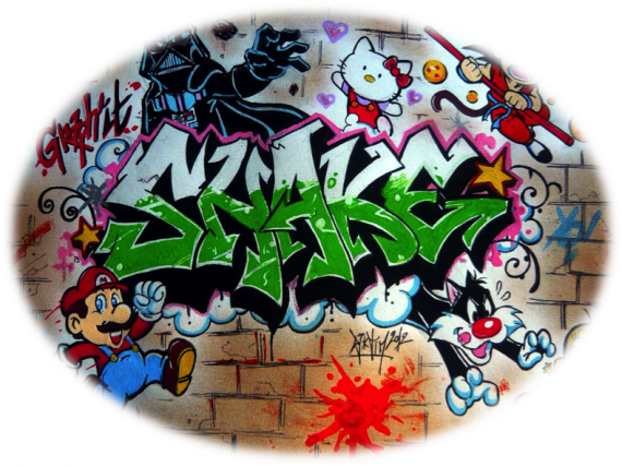 Graph'it shake fresque 90's KIDS