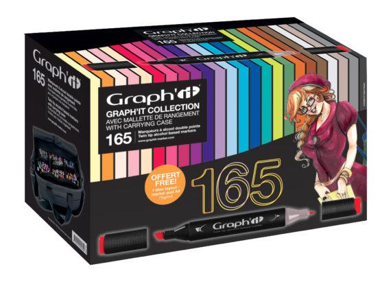 Manette 165 couleurs