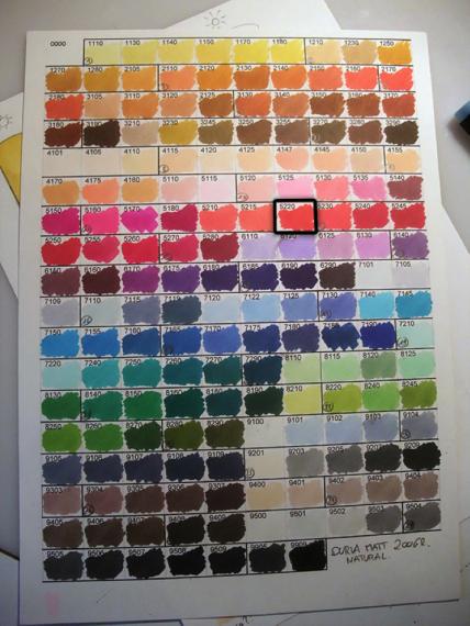 Nuancier 176 couleurs Graph'it