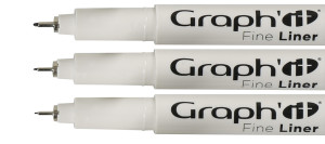Set de 3 Graph'it Liners