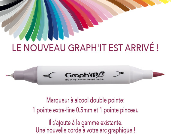 marqueur GRAPH'IT BRUSH