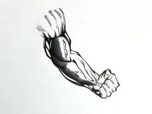 Etape 2 bras