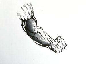 Etape 3 bras