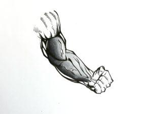 Etape 4 bras