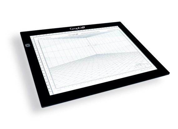 Lightboard grille perspective