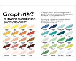 Le Nuancier Graph It Brush 96 Couleurs Graph It Marker