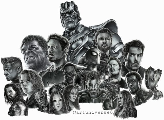 Avengers project by Artuniverse6