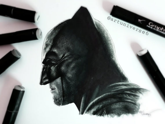 Batman by Artuniverse6