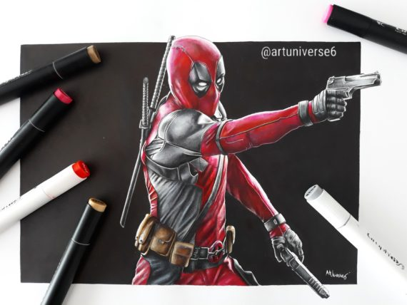 Deadpool by Artuniverse6