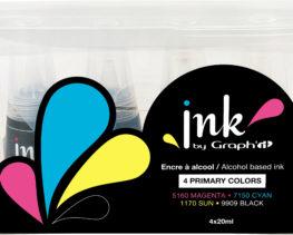 set couleurs primaires ink graphit