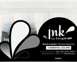 couleurs essentielles encres graphit
