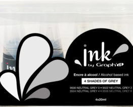 set ink graphit gris