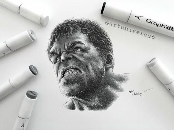 Hulk by Artuniverse6