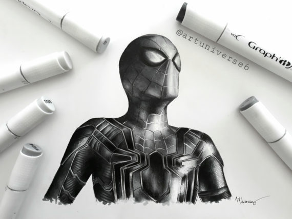 Iron Spider by Artuniverse6