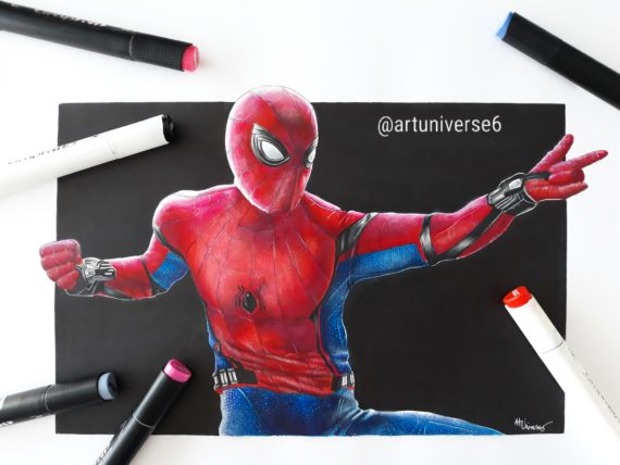 spiderman graphit