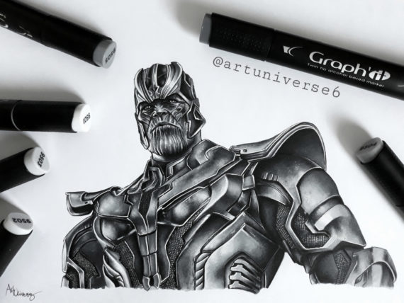 Thanos by Artuniverse6