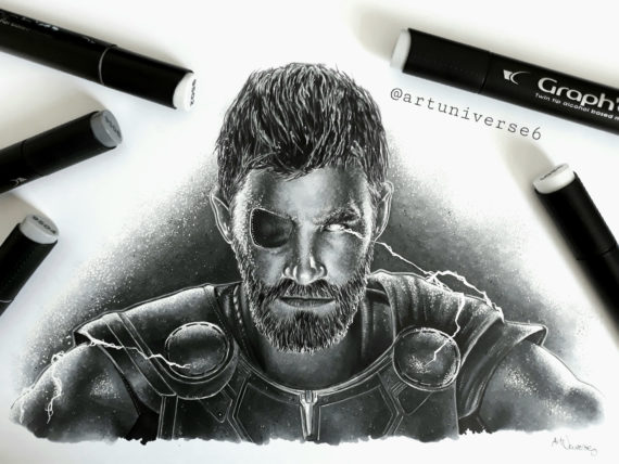Thor by Artuniverse6