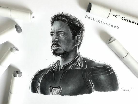 Tony Stark by Artuniverse6