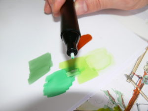 melange couleurs graphit