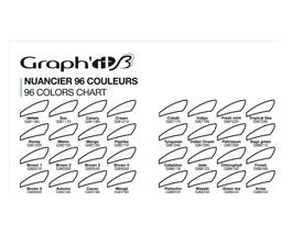 nuancier vierge Graph'It brush