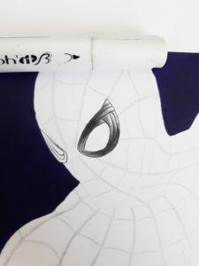 faire un spiderman