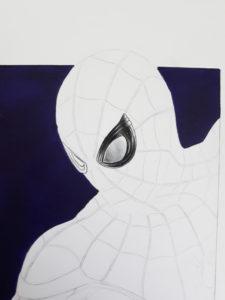 yeux spiderman